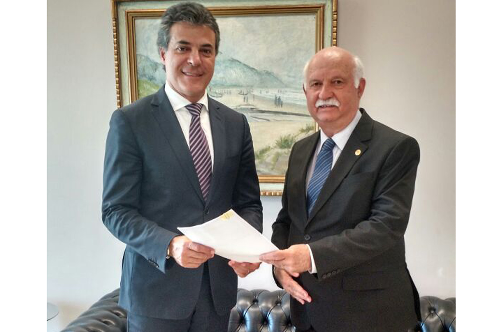 Presidente do TJPR visita Governador do Estado