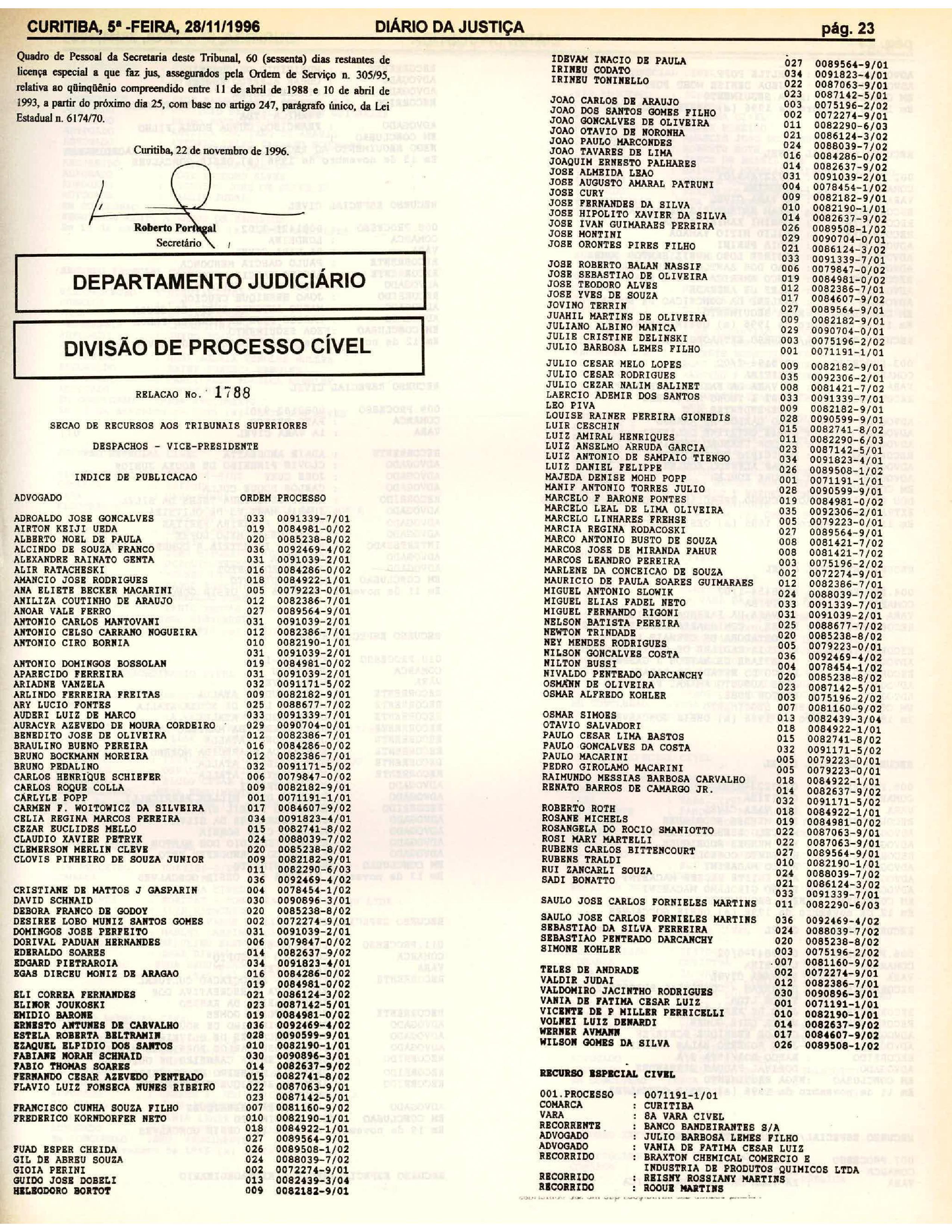 Diário da Justiça Antigos - TJPR 9a1e30c1c9