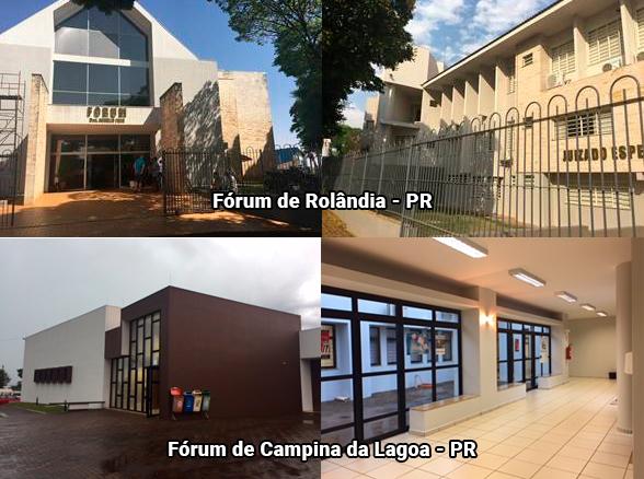 TJPR investe em reformas dos Fóruns no interior do estado