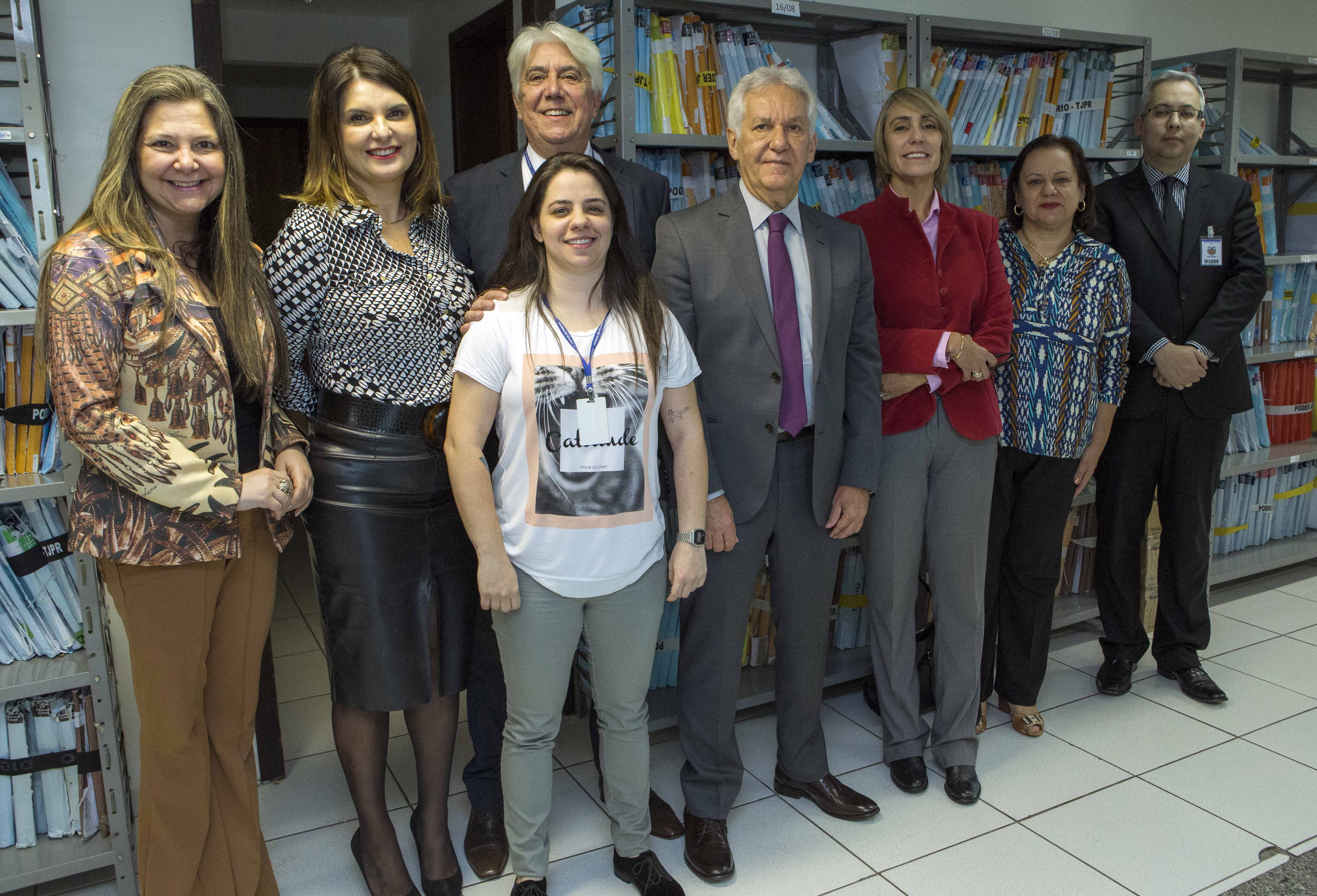 Trabalho desenvolvido pelo Centro de Digitalização é reconhecido pela Presidência do TJPR