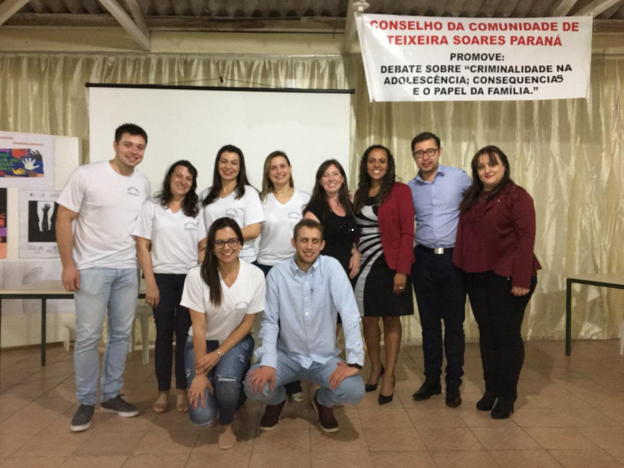 Juiz de Teixeira Soares reúne comunidade local para debater a criminalidade na adolescência