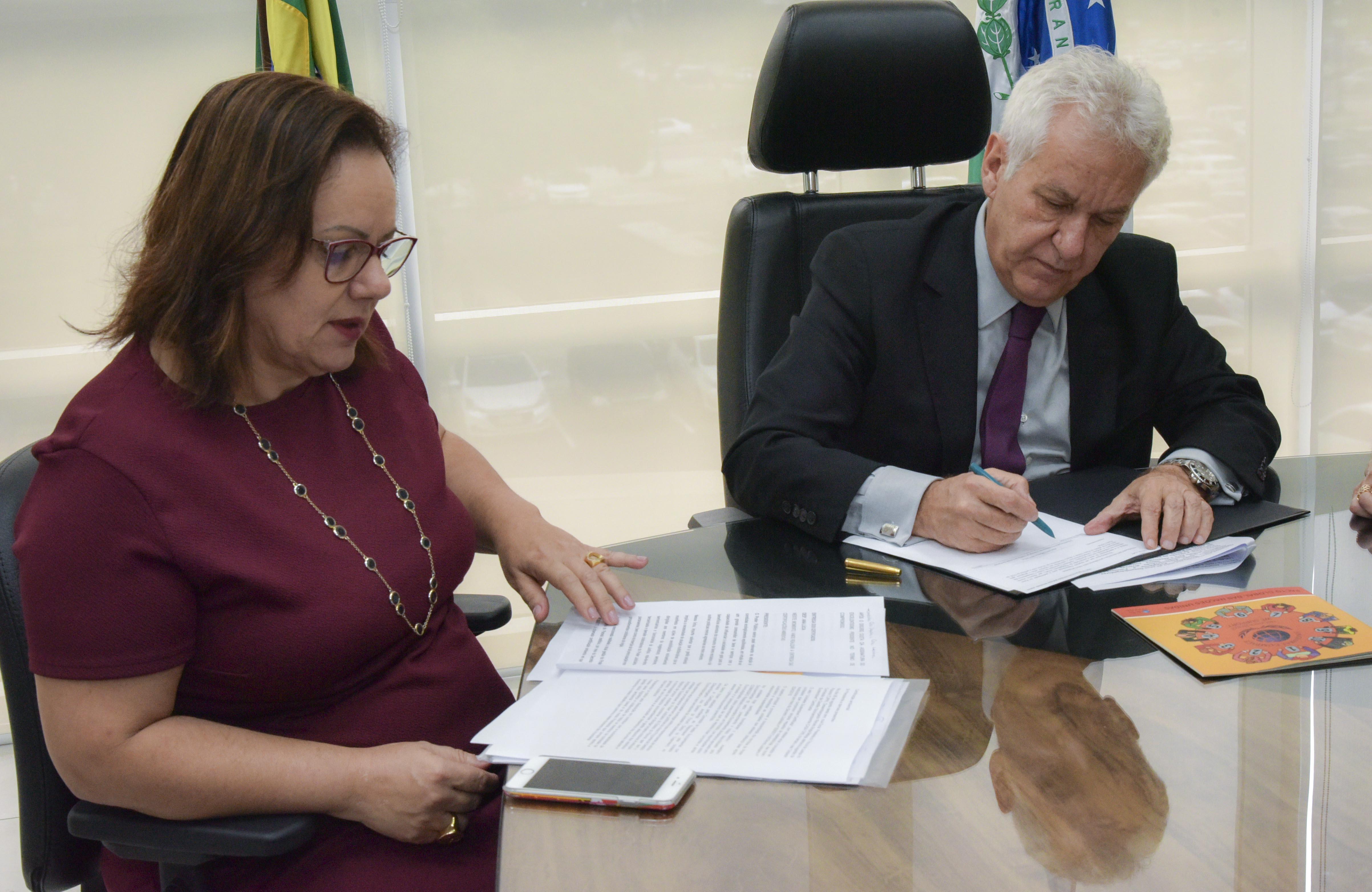 Presidente do TJPR assina Carta de Compromisso para adesão a Pacto Global da ONU