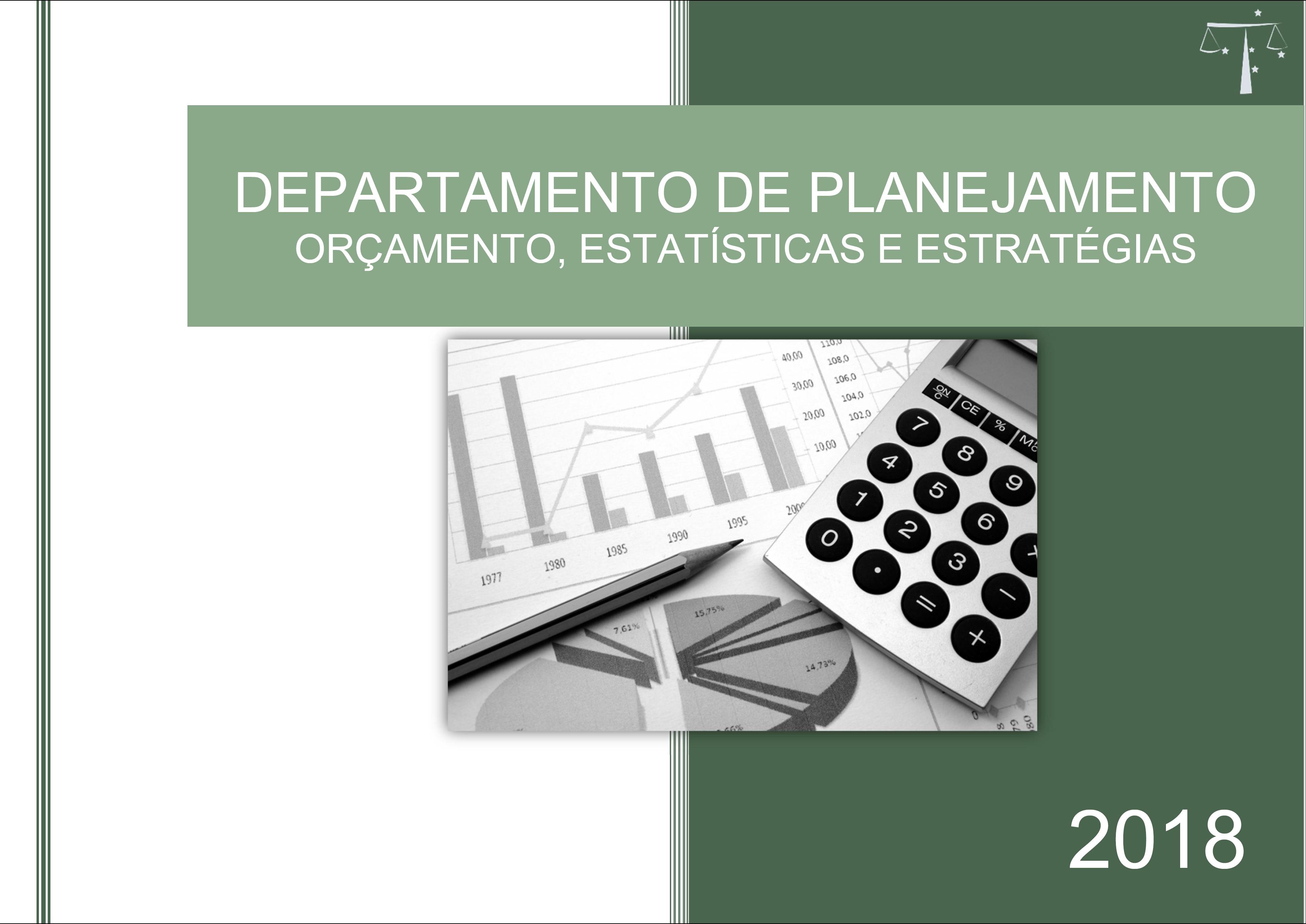 Departamento de Planejamento apresenta relatório das atividades realizadas em 2018