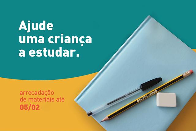 2ª Vara de Infância e Juventude de Curitiba promove campanha para arrecadar material escolar