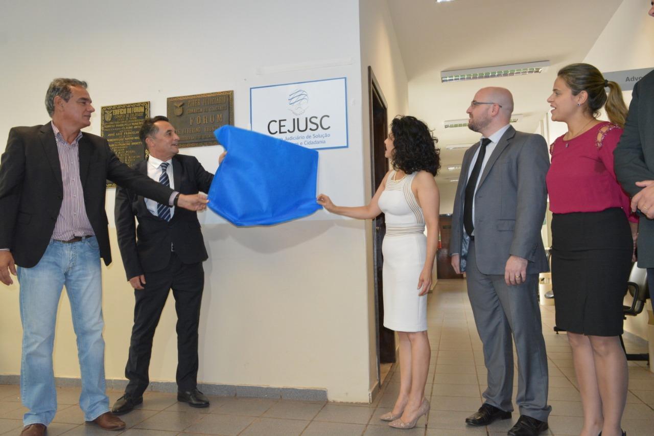 Novo CEJUSC do TJPR é inaugurado na Comarca de Colorado