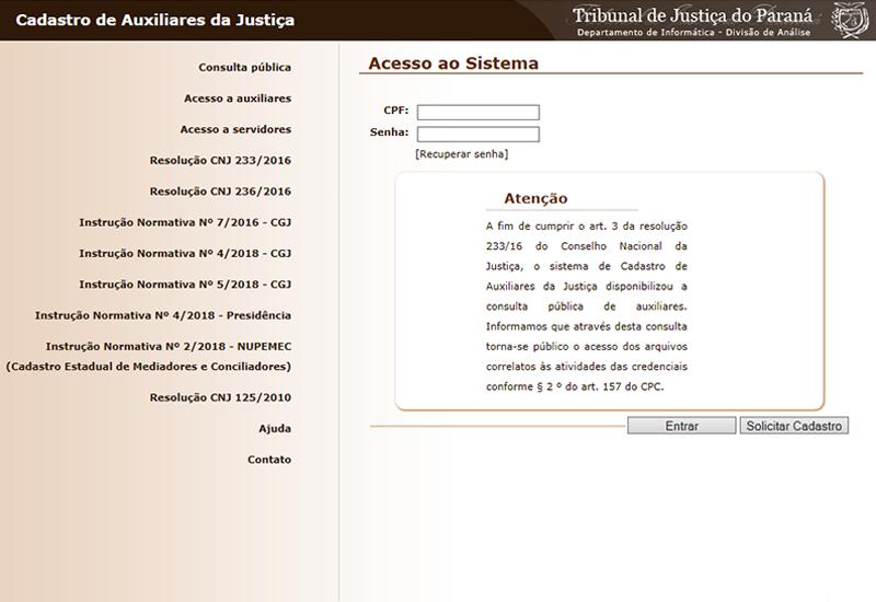 Cadastro Estadual para mediadores e conciliadores judiciais já está disponível no site do TJPR