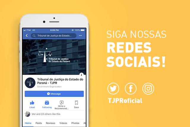 Tribunal de Justiça do Paraná está presente nas redes sociais