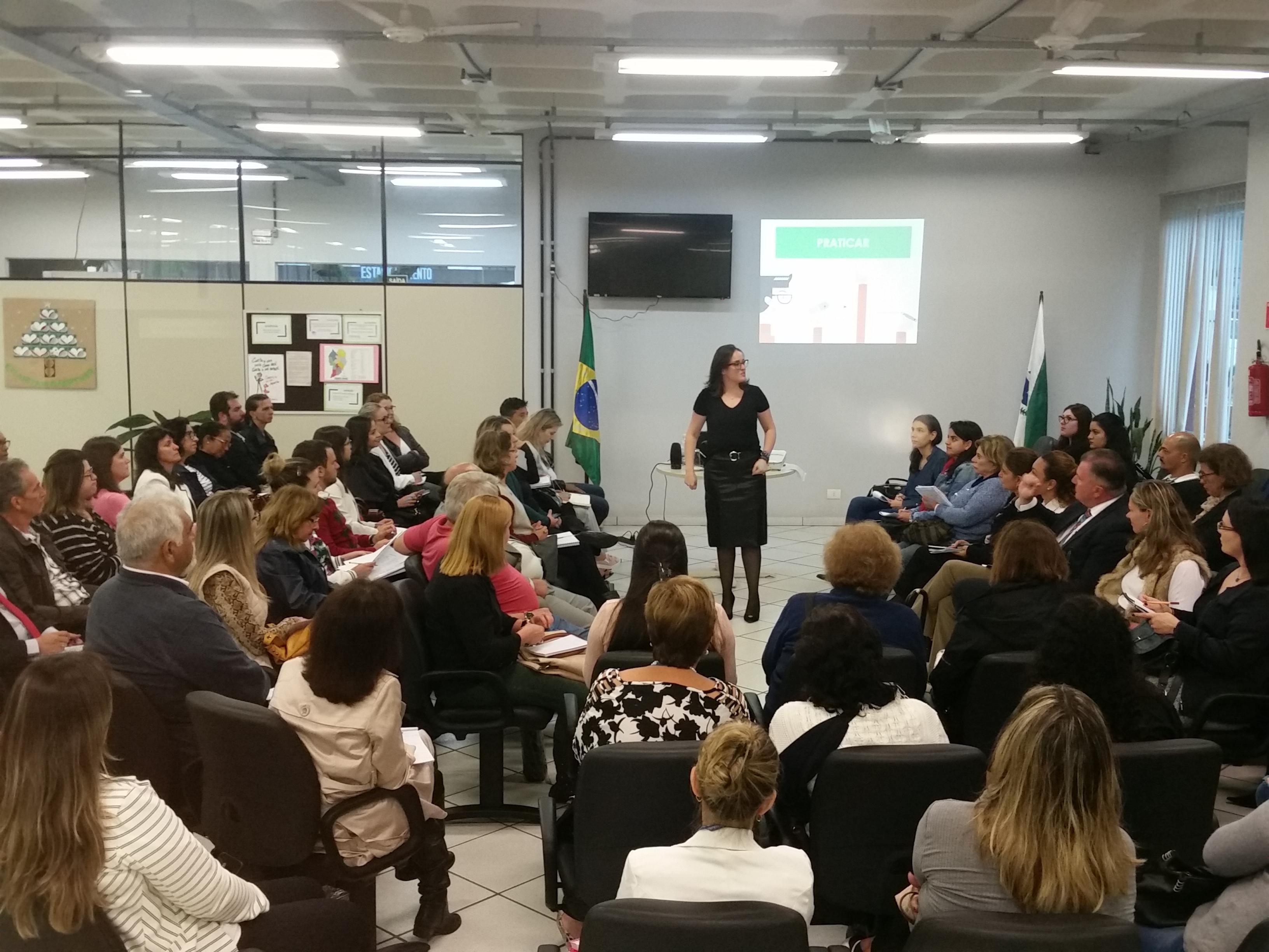 CEJUSC de Santa Felicidade realiza workshop sobre mediação de conflitos