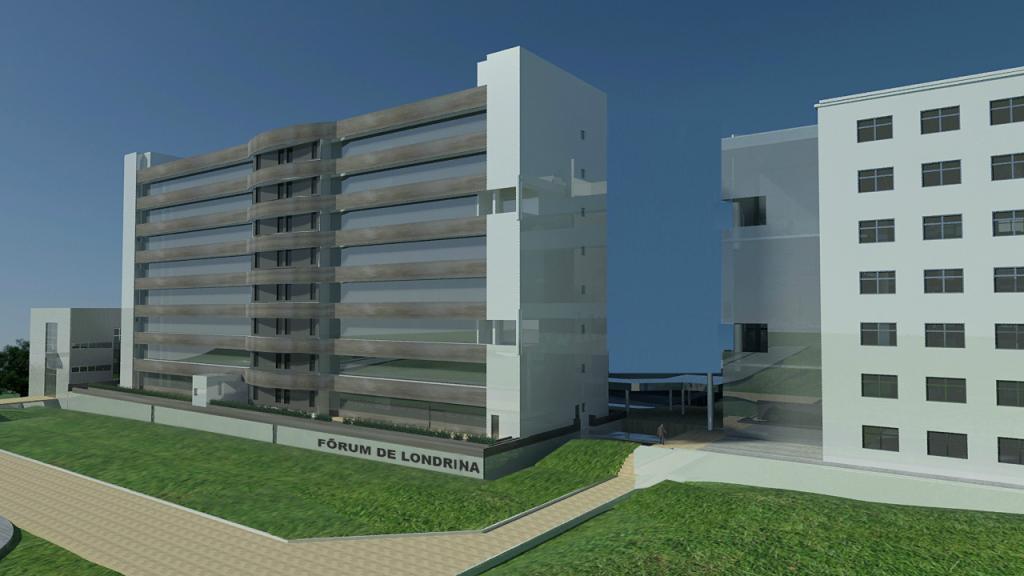 TJPR contrata nova empresa para continuar a obra do Fórum Criminal de Londrina
