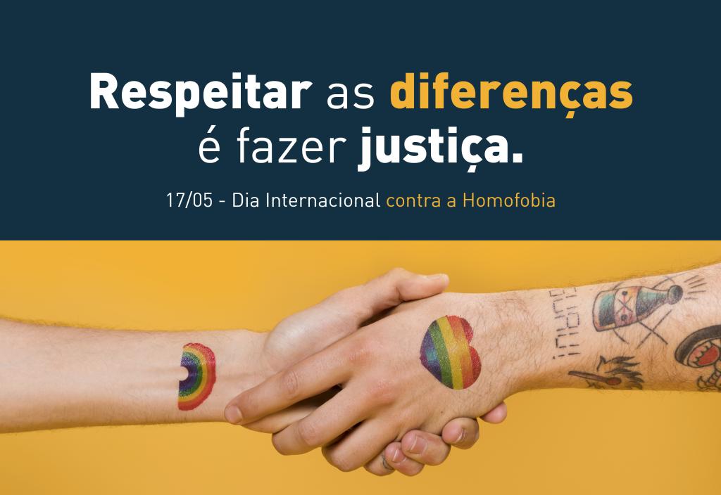 17 de maio - Dia Internacional contra a Homofobia