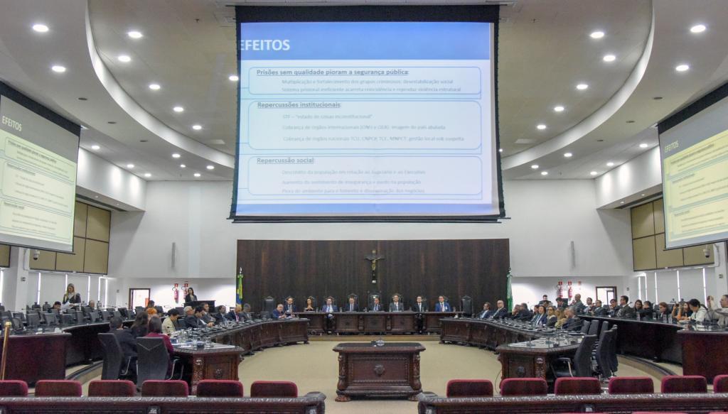 Representantes do CNJ apresentam no TJPR proposta voltada ao sistema prisional
