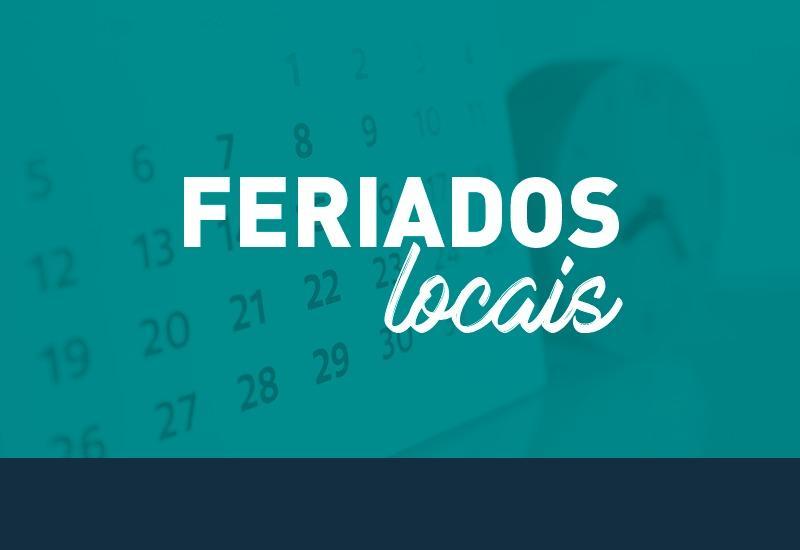 Decreto Judiciário atualiza o calendário de feriados da Justiça estadual