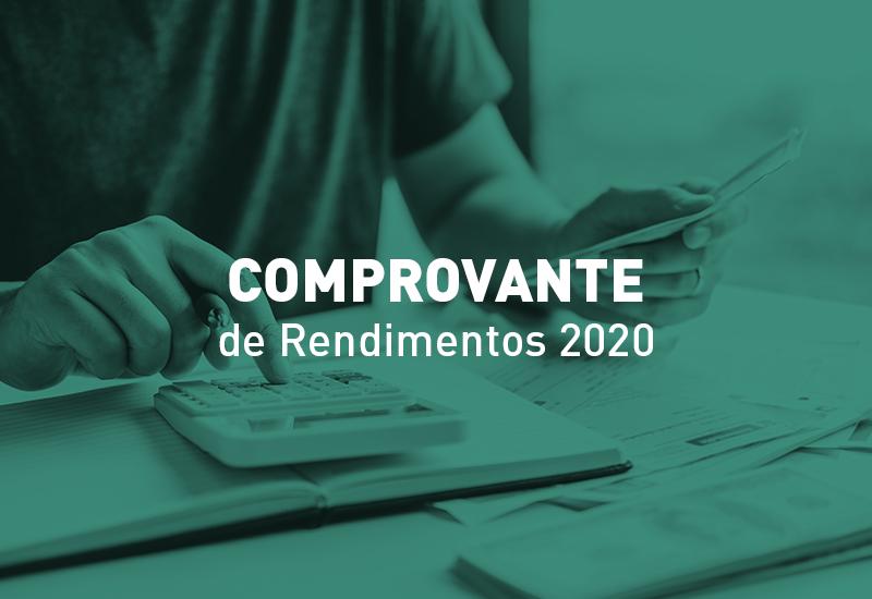 Comprovantes de rendimentos de 2020 estão disponíveis para consulta