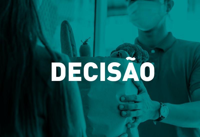 COVID-19: Justiça estadual autoriza supermercado de Curitiba a atender por delivery aos domingos