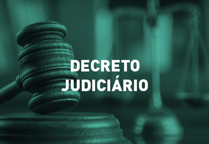 Decreto Judiciário mantém o regime de trabalho da primeira fase do retorno gradual das atividades até 9 de junho