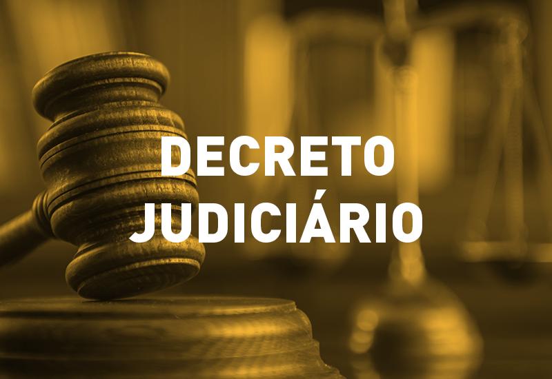 Decreto Judiciário de medidas de enfrentamento à COVID-19 permanece válido