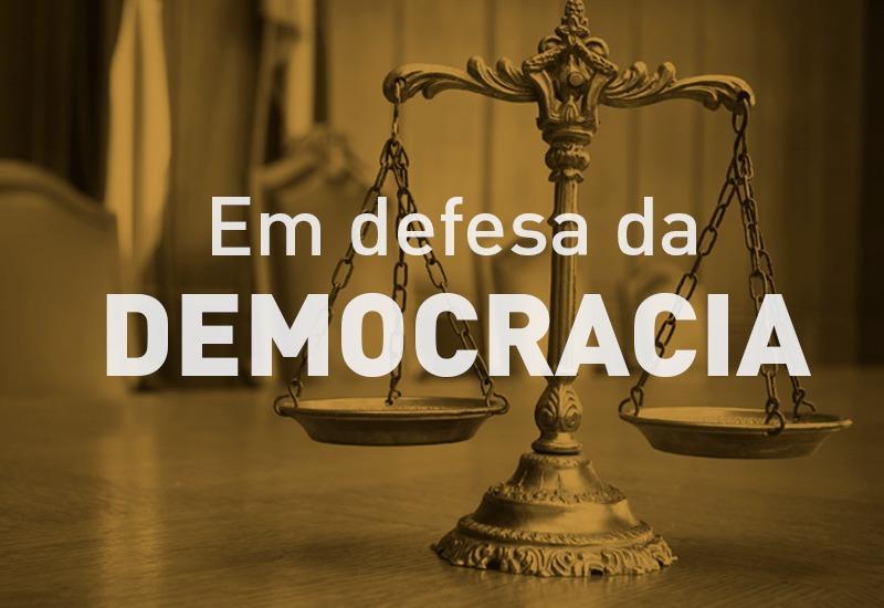 TJPR, MPPR e OAB-PR assinam nota em defesa da Democracia