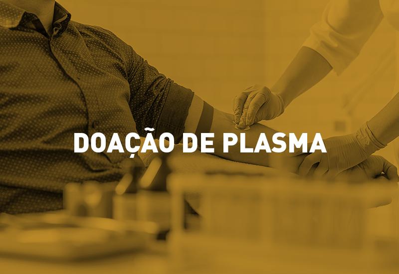 Hemepar solicita doações de plasma de pessoas que foram infectadas pela Covid-19
