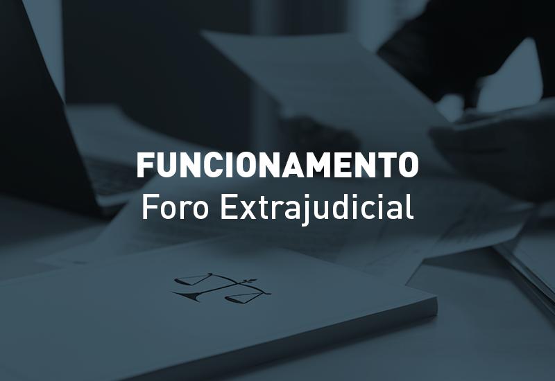 Regras de funcionamento do Foro Extrajudicial no Estado do Paraná