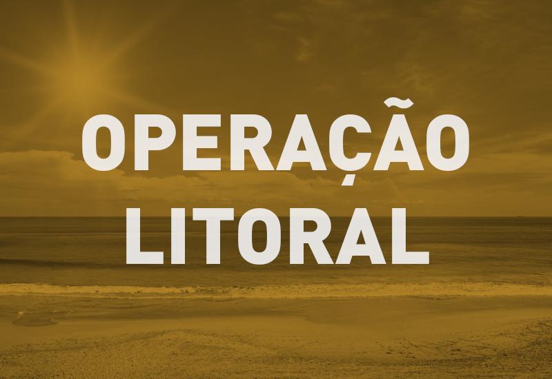 Operação Litoral atenderá aos veranistas de 26 de dezembro a 10 de janeiro