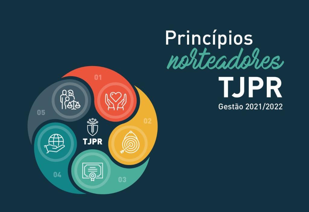 Conheça os Princípios Norteadores do Plano de Gestão do Biênio 2021-2022 do TJPR