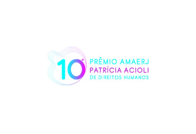 Inscrições abertas para o 10º Prêmio AMAERJ Patricia Acioli de Direitos Humanos