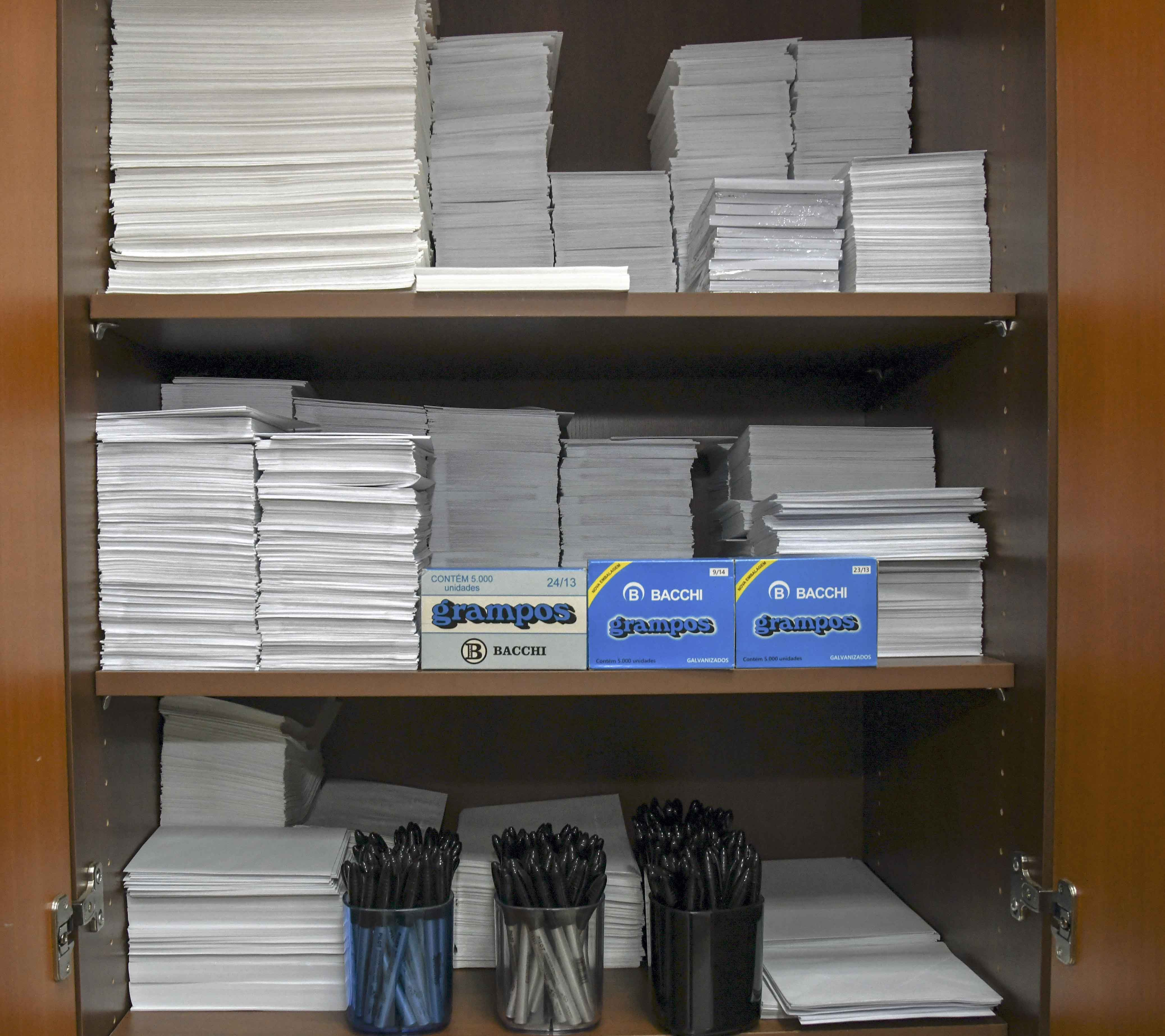 Eficiência e transparência norteiam o sistema de controle de estoques de materiais do TJPR