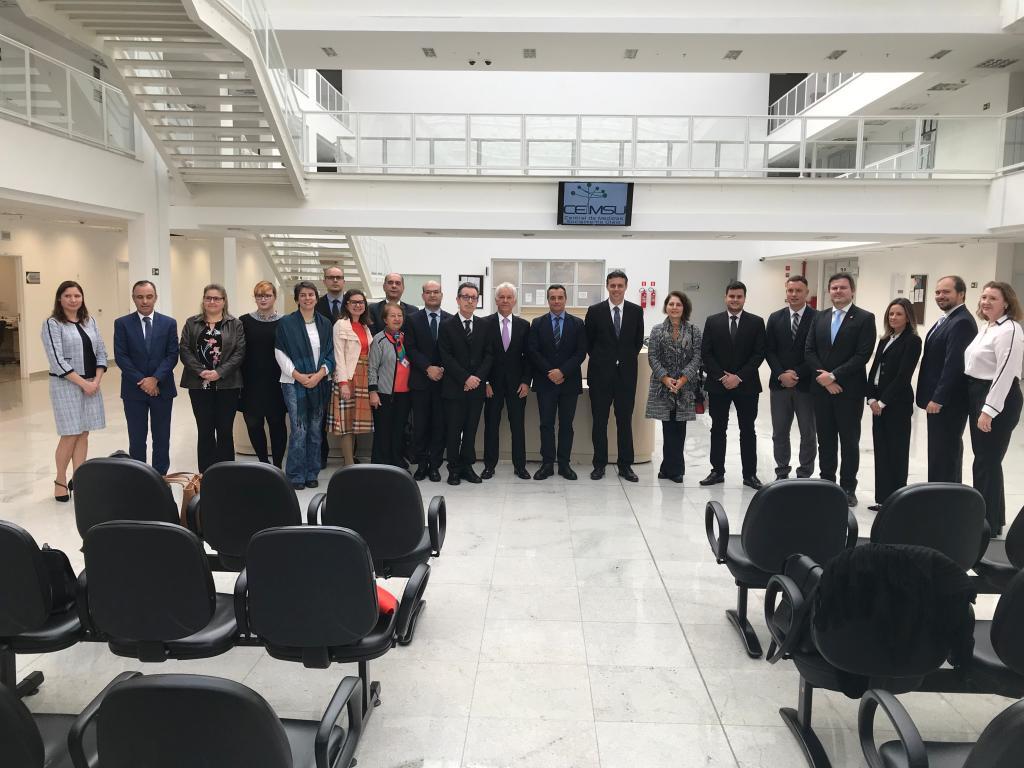 TJPR inaugura a Central de Medidas Socialmente Úteis no Centro Judiciário de Curitiba