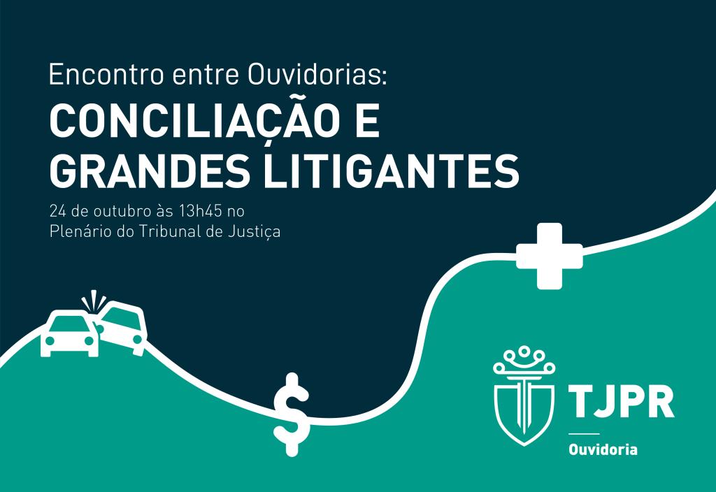 Encontro para debater o papel conciliatório das Ouvidorias acontece na próxima quinta (24/10)