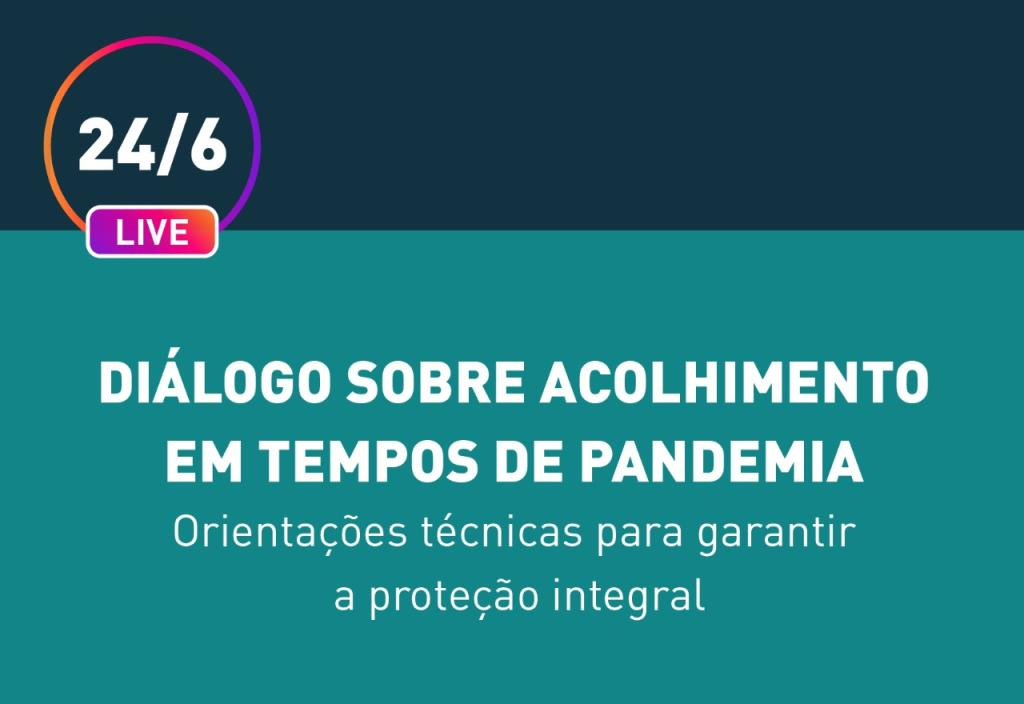 Comitê Interinstitucional Protetivo do Paraná realizará live sobre a proteção integral de crianças e adolescentes em situação de acolhimento
