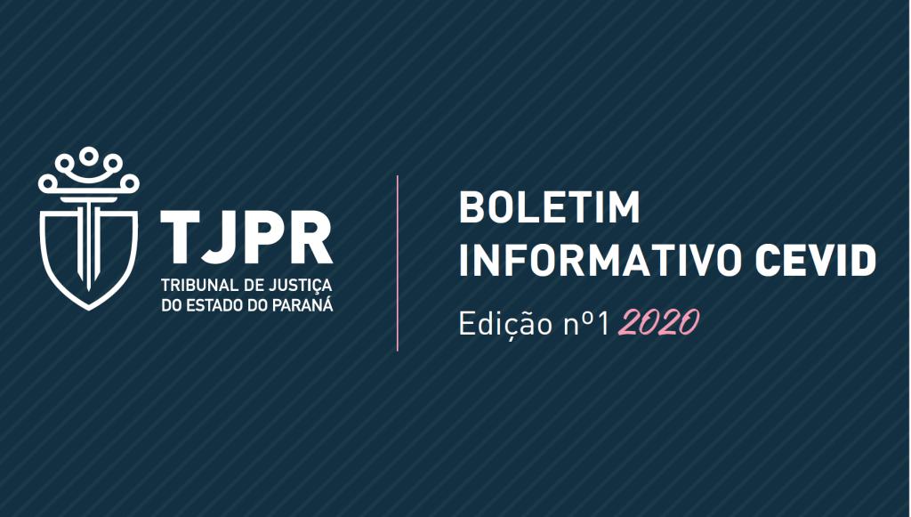 CEVID lança 1ª edição do Boletim Informativo de 2020
