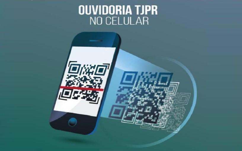 QR Code da Ouvidoria do TJPR é incluído no portal de Boas Práticas do Poder Judiciário