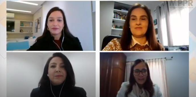 CEVID/TJPR participa de debate virtual promovido pelo MPPR