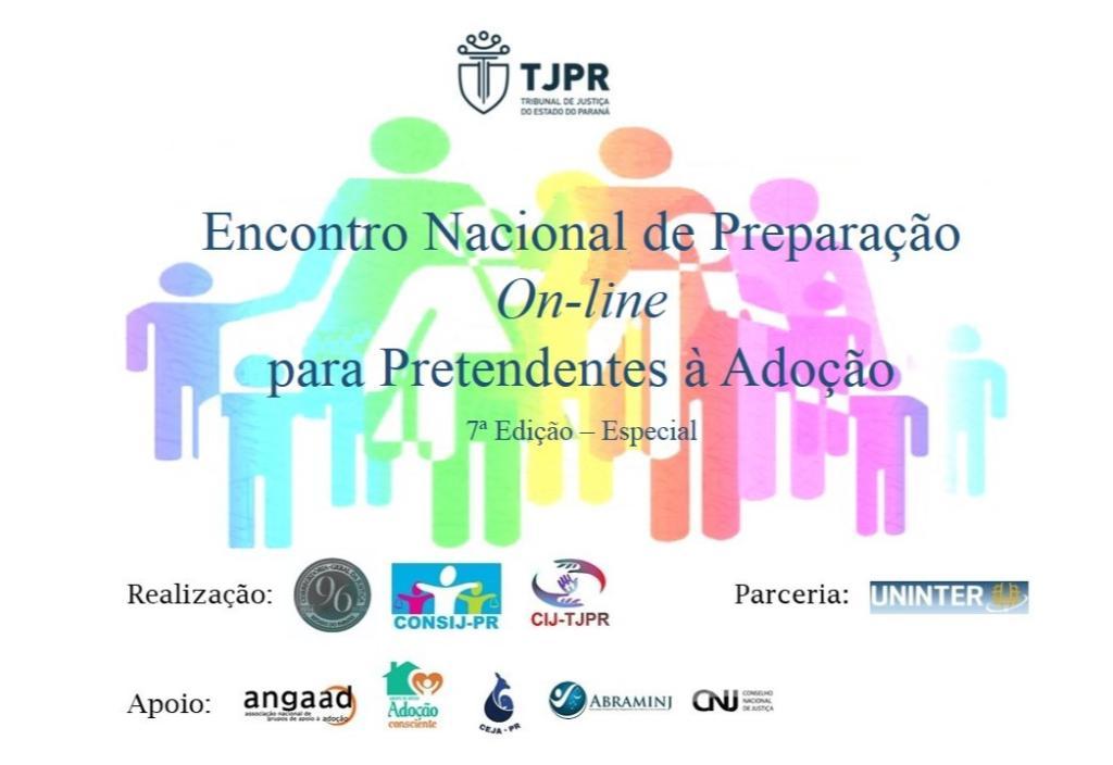 7º Encontro Nacional de Preparação On-line para Pretendentes à Adoção tem início nesta terça-feira (20/10)