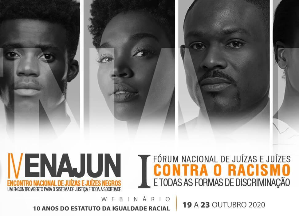IV Encontro Nacional de Juízas e Juízes Negros será realizado entre os dias 19 e 23 de outubro