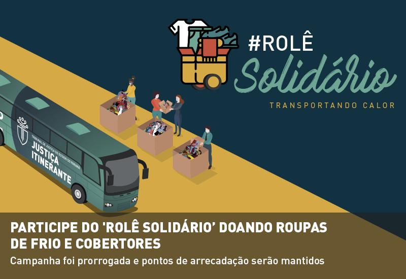 Participe do 'Rolê Solidário' doando roupas de frio e cobertores