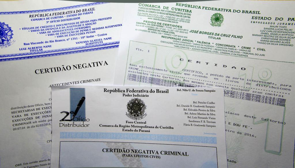 Saiba como solicitar certidões cíveis e criminais - Destaques - TJPR