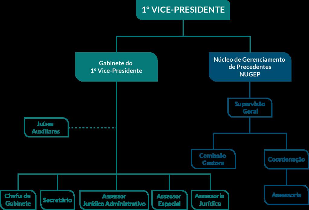 Organograma 1ª Vice-Presidência