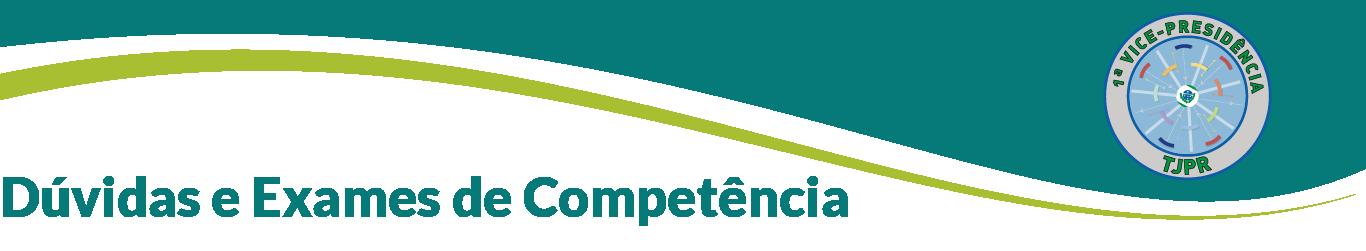 Dúvidas e Exames de Competência